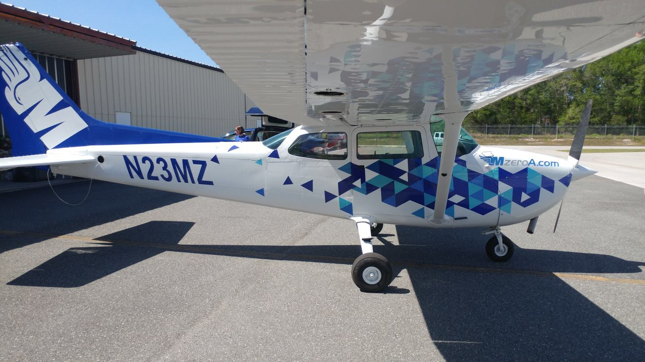 Aviation Wraps Airplane Vinyl Wraps